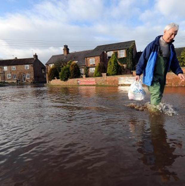 Around 610,000 properties will be at significant risk of flooding by 2035 without action, the Government was warned