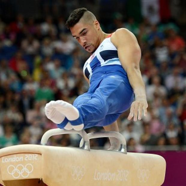 Louis Smith and the GB men's gymnastic team compete in the final on Monday