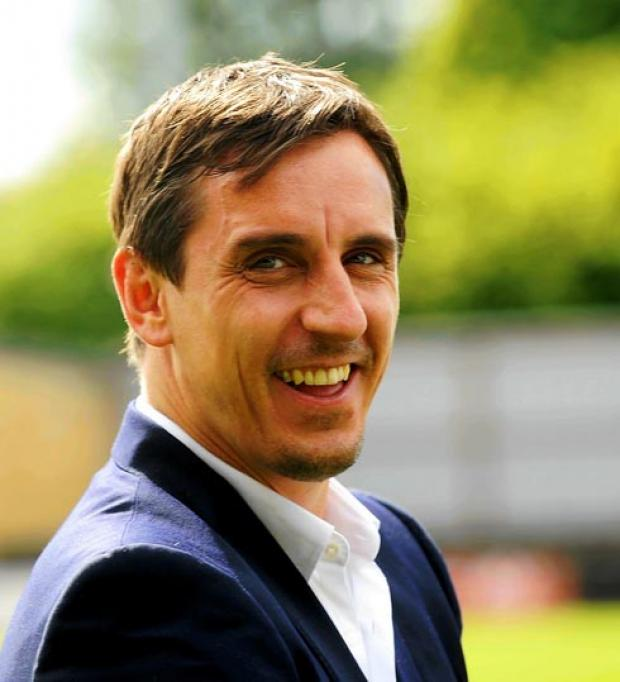 Gary Neville will take part in the one off contest for the Strictly United trophy