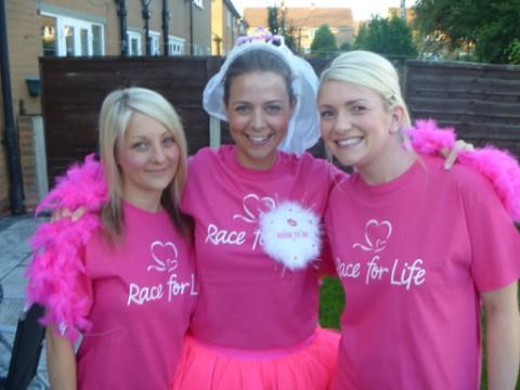 (L to R) Amy Daniels, Sian Dowds and Donna Fent