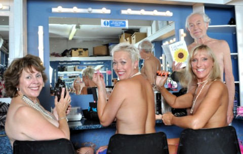 Girls nude in Calendar and