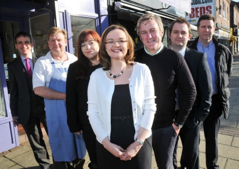Bob Thomas Carter, Richard Day, Christine McLaughlin, Cllr Lisa Cooke, Brian Jones, Stephen Groves and Peter Hopkins