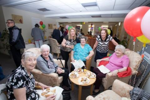 Trafford Housing Trust opens improved Vine Court homes
