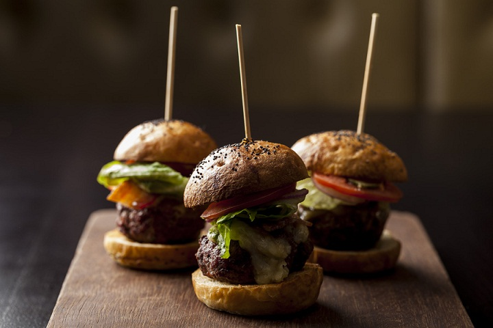 Manly twist on afternoon tea - complete with burgers - available in Blackheath