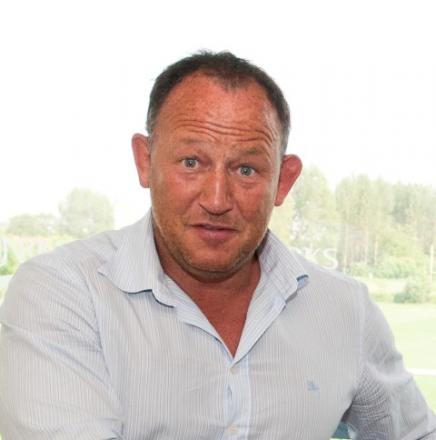 Steve Diamond - delighted at new signing