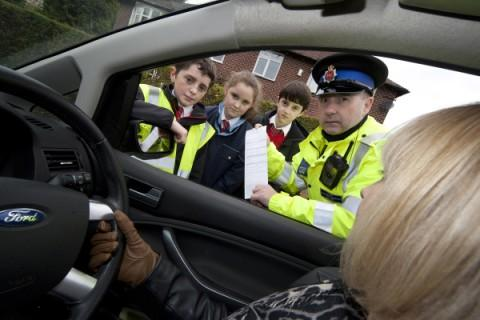 Timperley school children lay down the law
