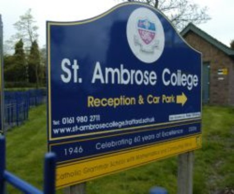 Top Hale Barns school St Ambrose RC College embroiled in historic sex abuse probe