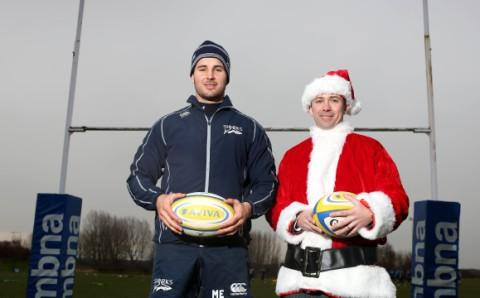 Christmas and Easter 'buddy' up at Sale Sharks for match buddies