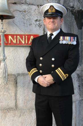 New role for Altrincham naval officer