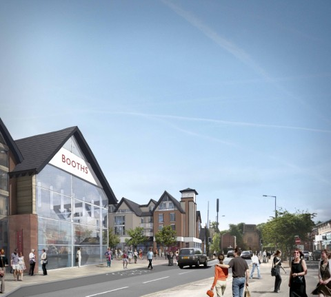 An artist's impression of the proposed revamp of the Square