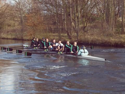 Rowing fever comes to Trafford