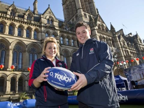 Sale Sharks supports O2Touch tour