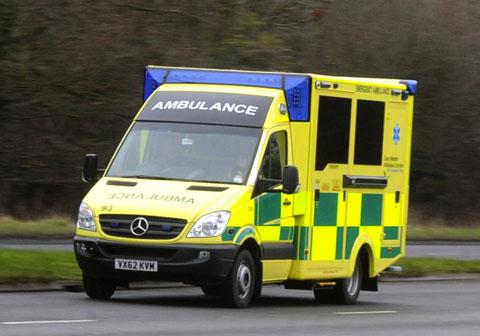 Pensioner in critical condition after being hit by cyclist on Broadheath pedestrian crossing