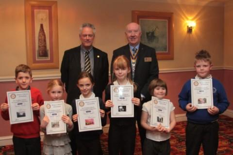 Young artists receive their prizes
