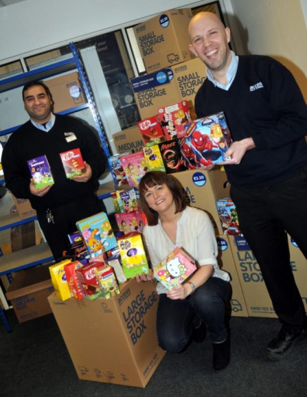 Easter egg collection for charity