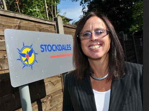 Stockdales chief executive Emma Morris