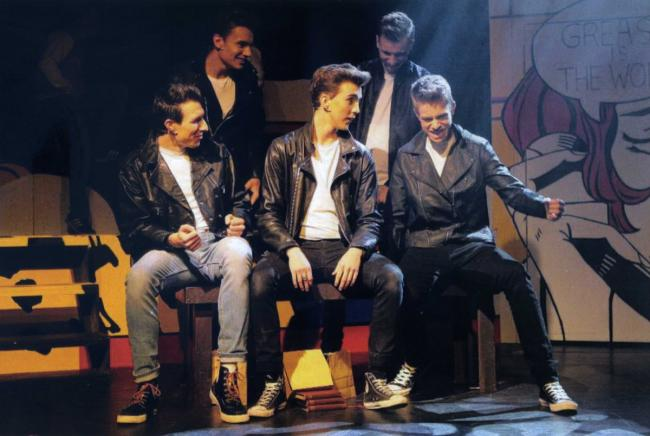 Grease is the word - a scene from the show