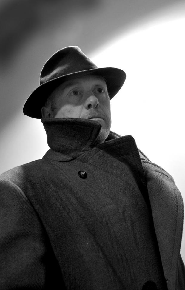 Paul Wilson as Inspector Goole - photo by Sally Greenway