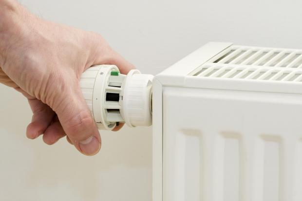 Turn off he heating in unused rooms