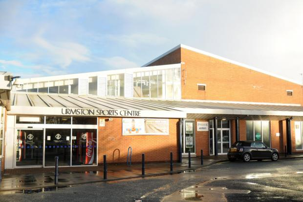 Urmston Leisure Centre had to be evacuated