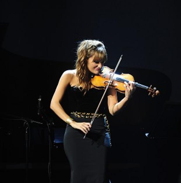 Messenger Newspapers: Nicola Benedetti performs at the Classic Brit Awards 2013.