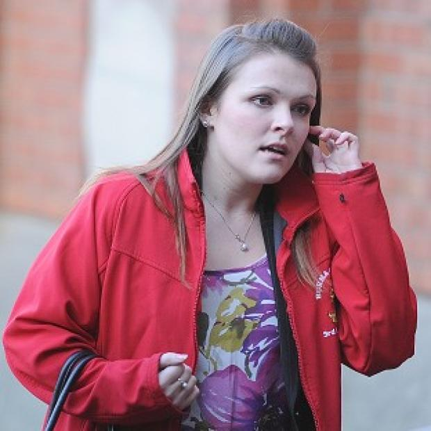 Messenger Newspapers: Rosie-Ann Stone arrives at Hull Crown Court