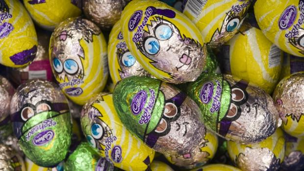 Business collects Easter eggs for Children's Adventure Farm Trust
