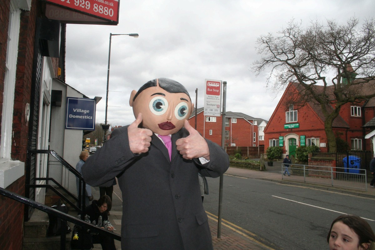 The much loved and much missed Frank Sidebottom