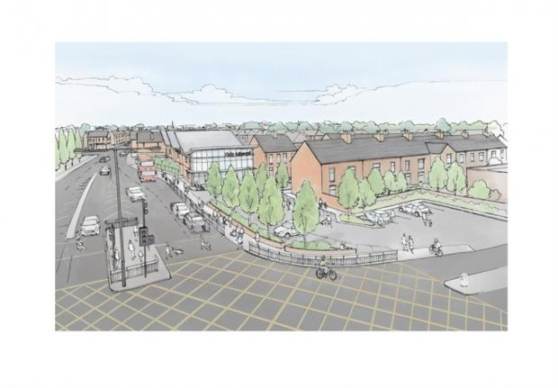 An artist's impression of the proposed Kids Allowed nursery in Broadheath