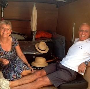 Roger Pratt, 62, died and his wife Margaret was injured after three armed men climbed aboard their yacht moored off St Lucia