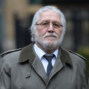 Former DJ Dave Lee Travis arrives at Southwark Crown Court in L
