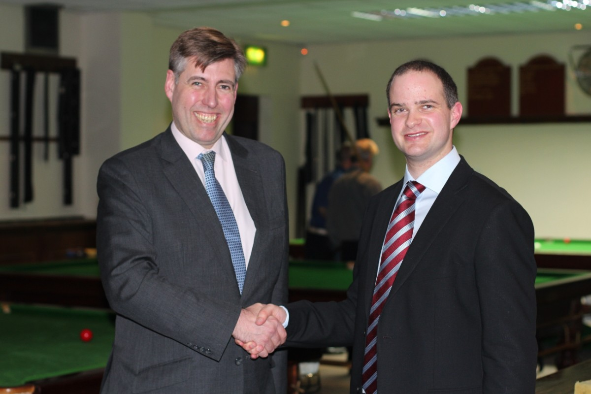 Graham Brady MP and Mr Critchlow