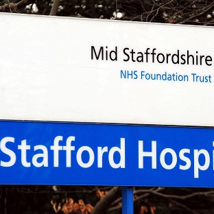 Stafford General Hospital where an inquiry found failings in standards of care