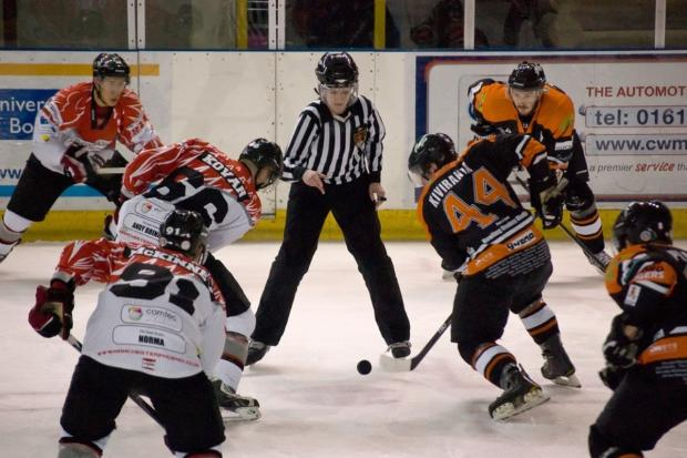 Photo 1 - Phoenix face off against Telford on Sunday - by Yolanda Amor Allan