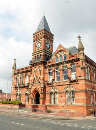 Landmark building - Stretford Public Hall