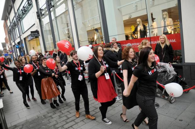 H&M marks the opening of its enlarged Altrincham store