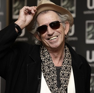 Rolling Stones star Keith Richards, 70, has become a grandfather agai