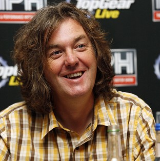 Top Gear's May flies to film troops