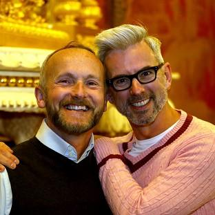 Messenger Newspapers: Neil Allard (left) and Andrew Wale will make up one of the first same-sex couples to be married in the UK when the new law comes into force. (PA/Brighton and Hove Council)
