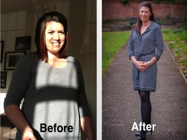 Group leader Nicole Nixon who lost four stone