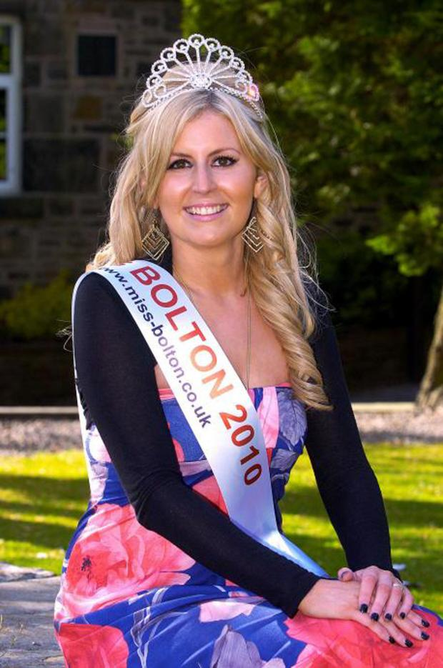 Messenger Newspapers: Kristina Long when she was Miss Bolton (Picture: Bolton News)