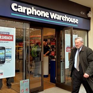 Carphone Warehouse is the subject of merger talks by Curry and PC World parent firm Dixons Retail Group