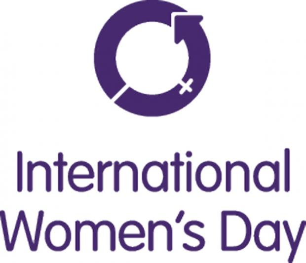 Trafford joins in International Women's Day