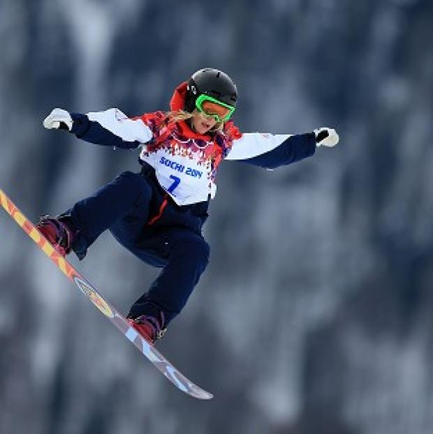Messenger Newspapers: Jenny Jones won a bronze medal in Sochi.
