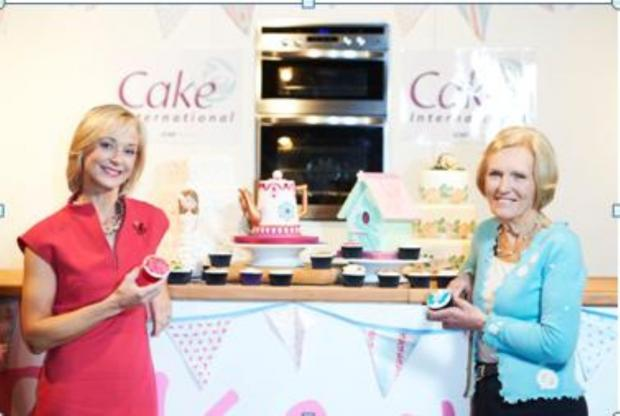 Mary Berry and Mich Turner at Cake International – The Sugarcraft, Cake Decorating & Baking Show