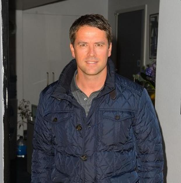 Messenger Newspapers: Michael Owen arriving at Sarm Studios for filming of the video.