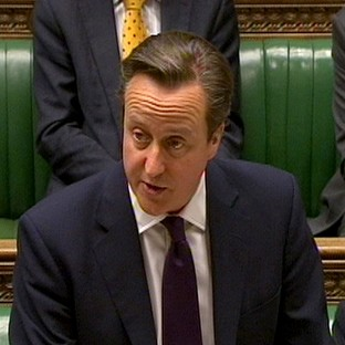 Prime Minister David Cameron has urged sanctions against some Russian MPs over the Ukraine crisis