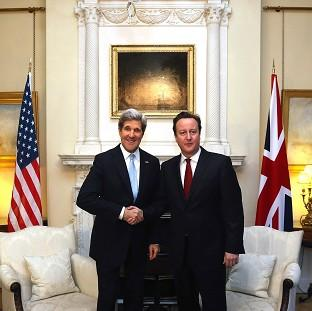 Messenger Newspapers: John Kerry and David Cameron will discuss the Ukraine crisis.