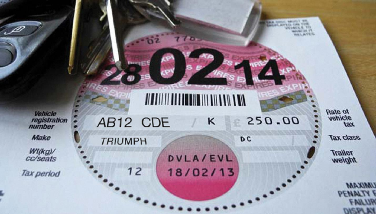 End of the road for car tax disc