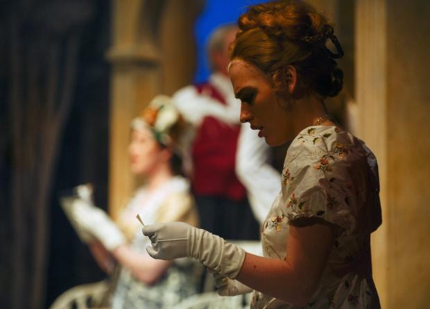 Messenger Newspapers: Laura Whitehurst as Lizzie Bennet